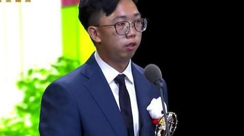 金钟奖/《FOOD超人第二季》夺动画节目奖领奖人谢全世界朋友