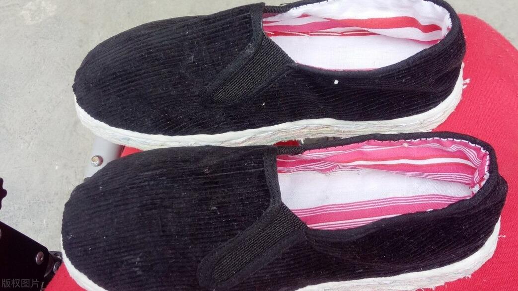 「陕北服饰」传统布鞋