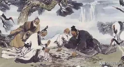 """陕南""""商山四皓""""的故事"""