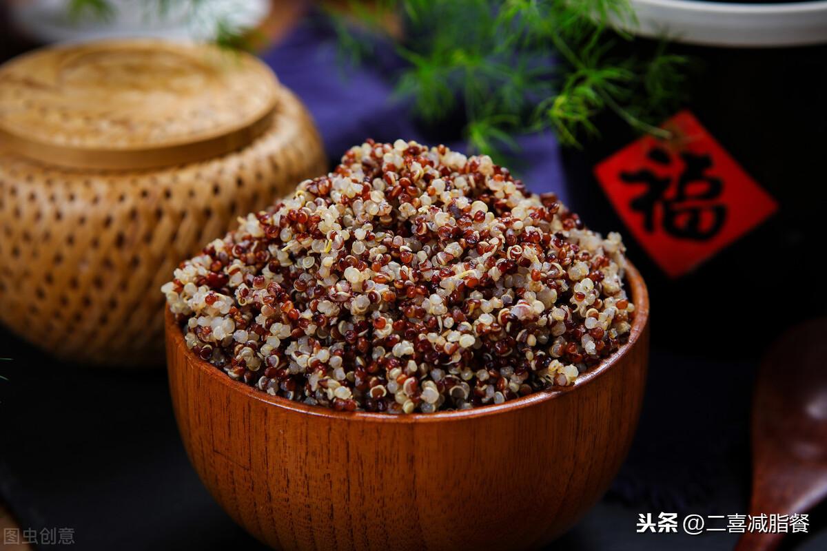 """减脂午餐68:藜麦南瓜饭,被称为""""黄金食物""""的藜麦好在哪里? 减肥菜谱做法 第1张"""