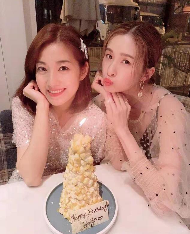 TVB绿叶女神独自过38岁生日 懒理视帝老公祝福获神秘人送花
