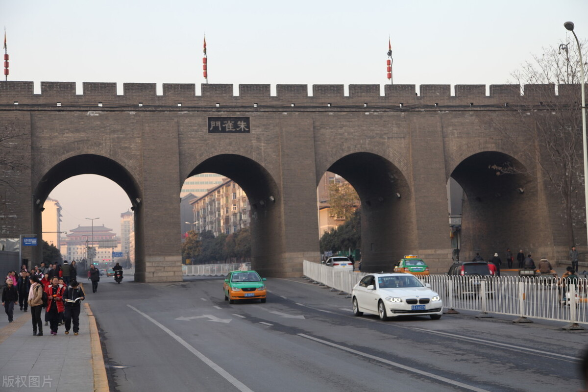 「西安故事」说说朱雀门、含光门、文昌门的故事