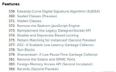 JDK15正式发布,划时代的ZGC同时宣布转正