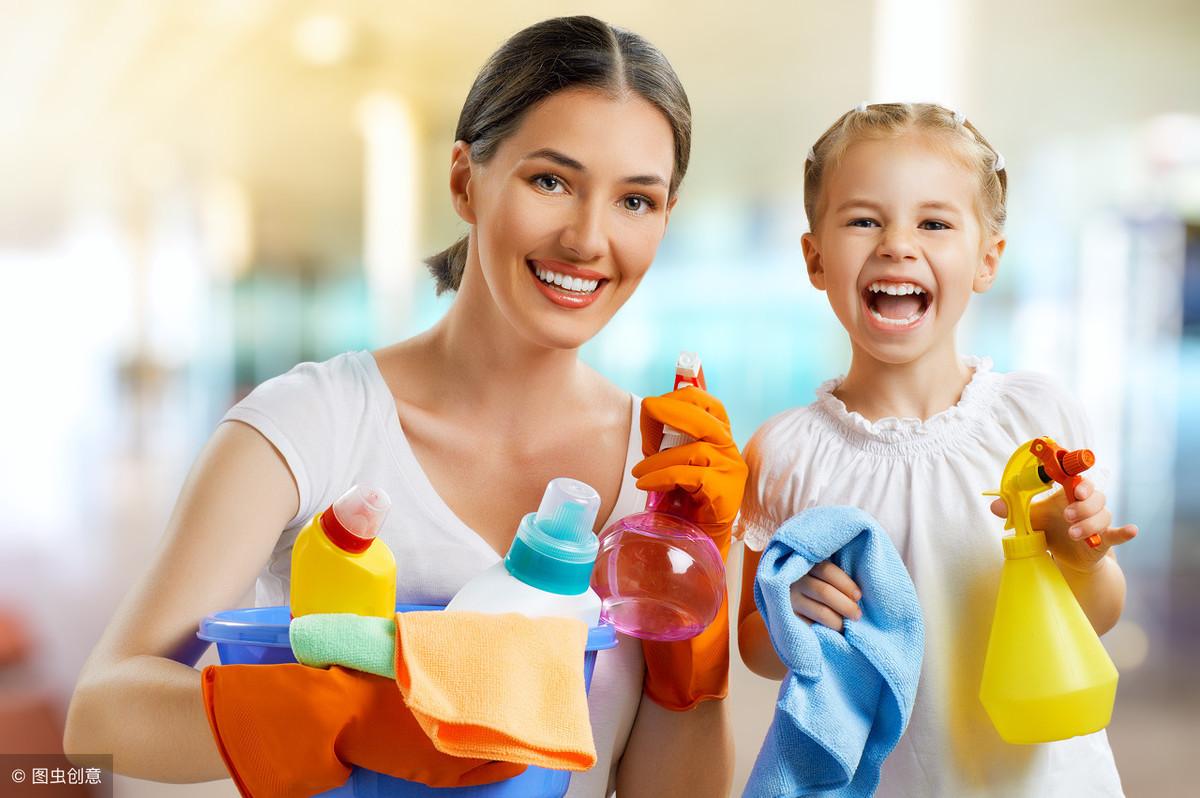 舍不得让孩子做家务,这样大错特错,七个小妙招让孩子爱上做家务 家务 第2张