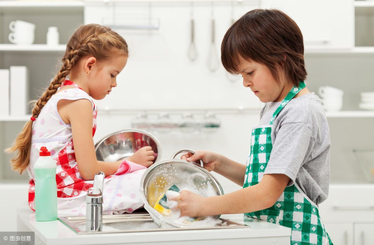 舍不得让孩子做家务,这样大错特错,七个小妙招让孩子爱上做家务 家务 第3张
