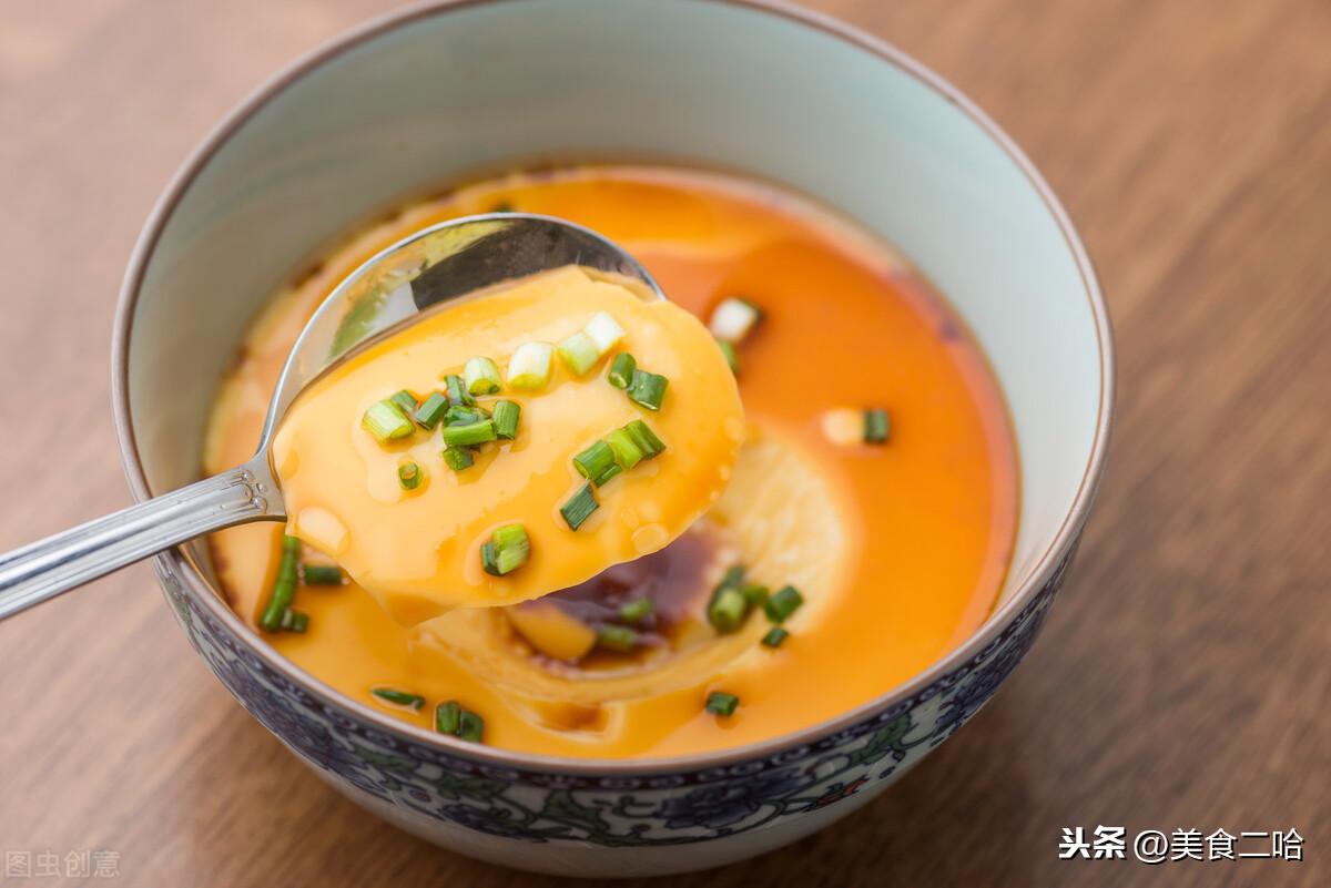 你真的会蒸水蛋吗?很多人把要点忽略了,做法教给你,完美如水镜 美食做法 第2张