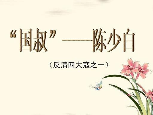 陈少白: 协助孙中山推翻帝制 功成身退 归乡隐居