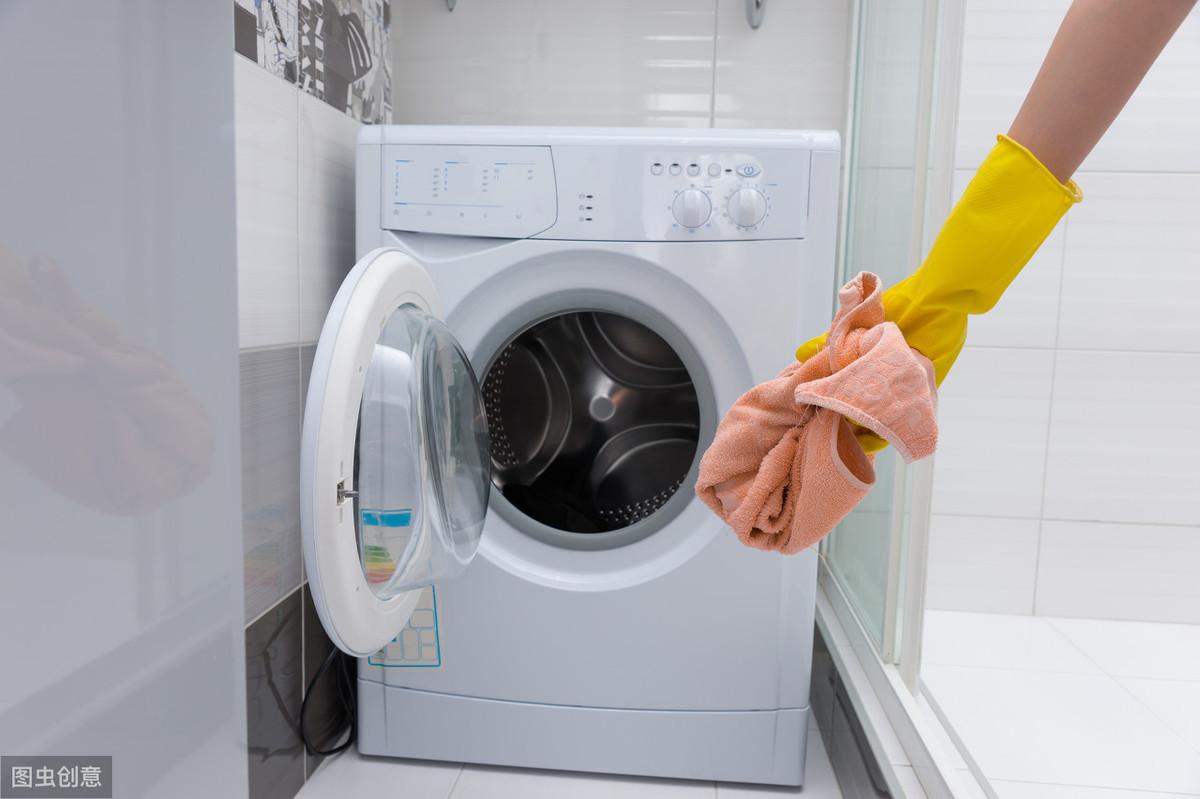 海尔洗衣机e4是什么故障(洗衣机洗一半e4报警)