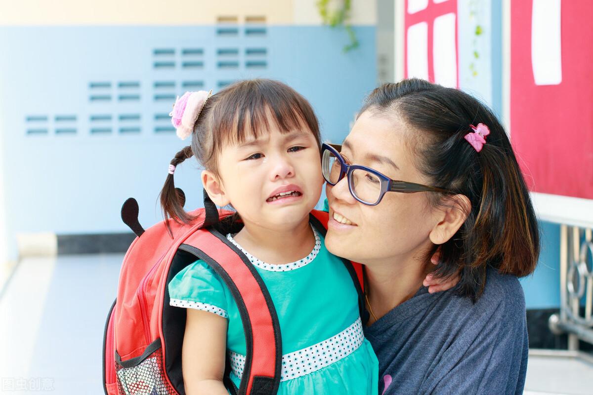 送女儿去幼儿园的那天,离开时我的心情变成这样