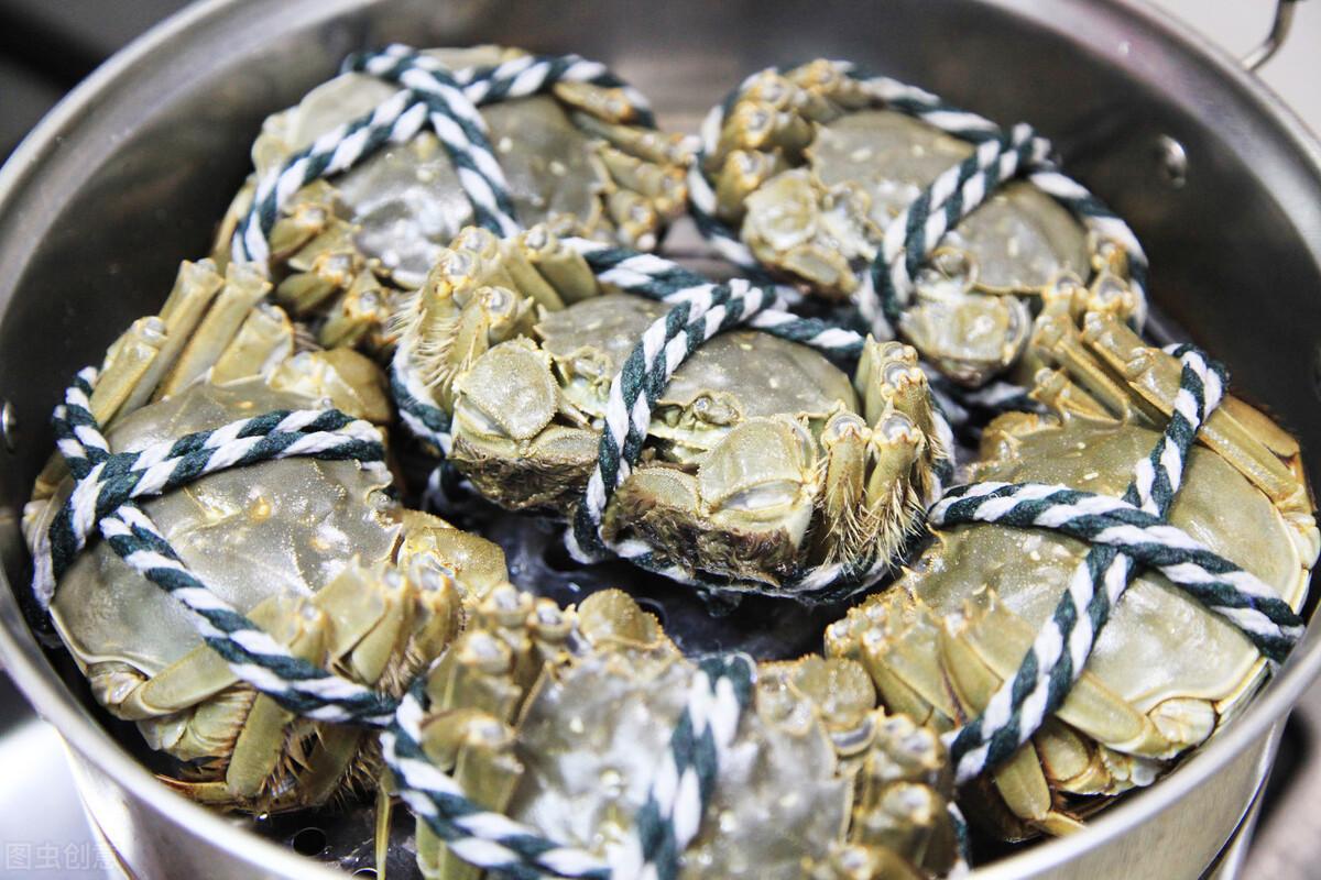 螃蟹需要蒸多久,螃蟹是需要凉水上锅蒸的