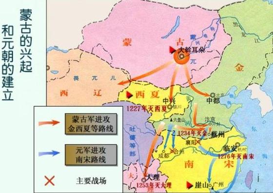 疆域曾覆盖欧亚大陆,却只存在了98年,元朝覆灭的四个原因