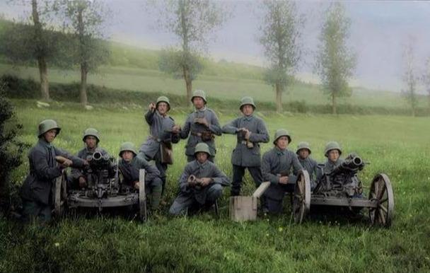 一战彩色照片,历史的见证。