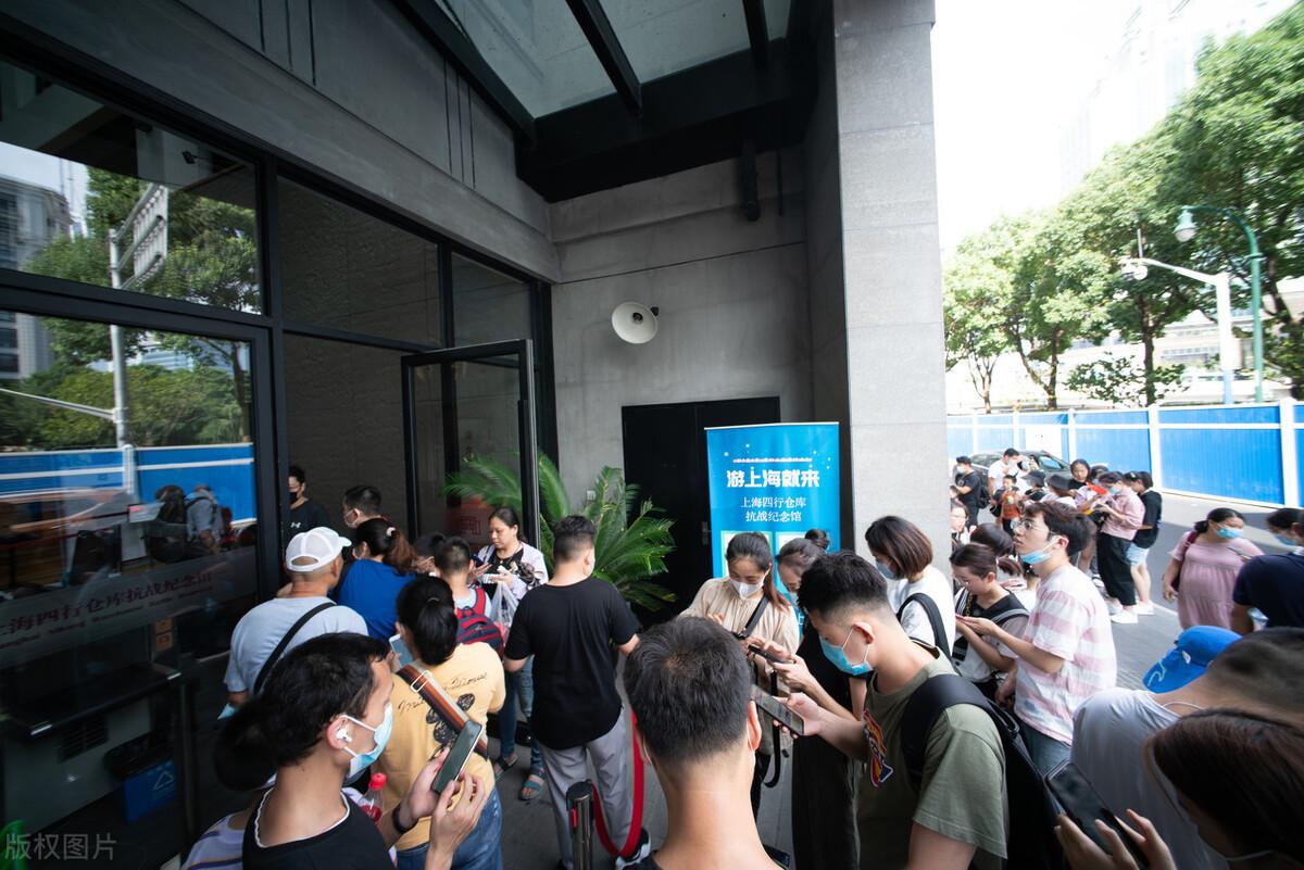 电影《八佰》热映,上海这处成网红打卡地标,客流量暴增
