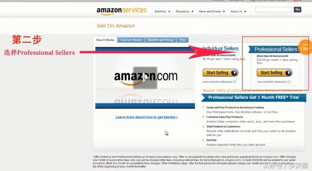 亚马逊电商平台怎么入驻(亚马逊公司开店流程)