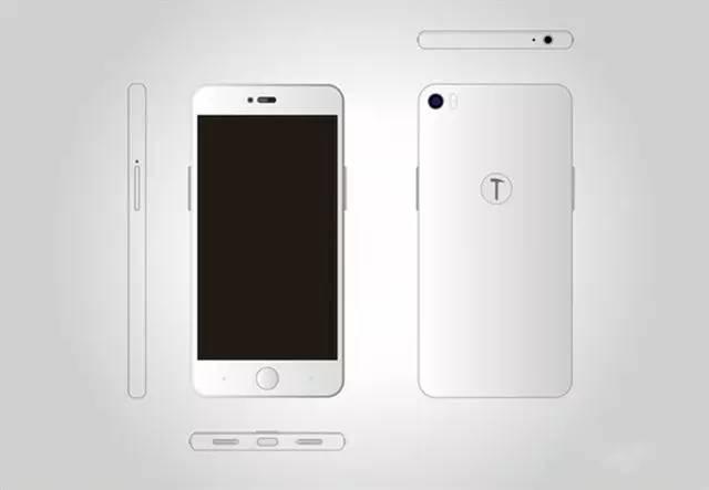 新手机曝出锤头T3外观设计配备再曝出 有点像iPhone?