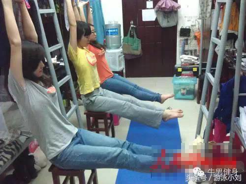 在宿舍也能健身 效果不比在健身房差!