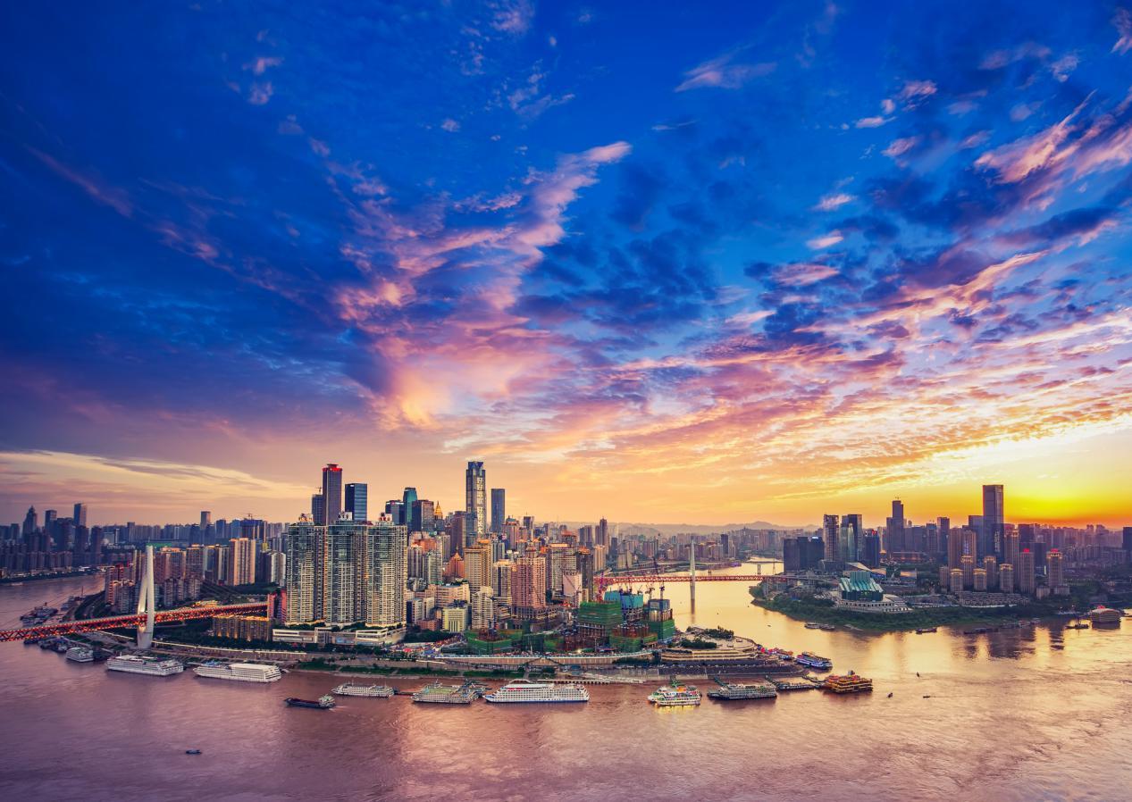 杨家坪商圈蝶变,新九龙步行街启幕繁华