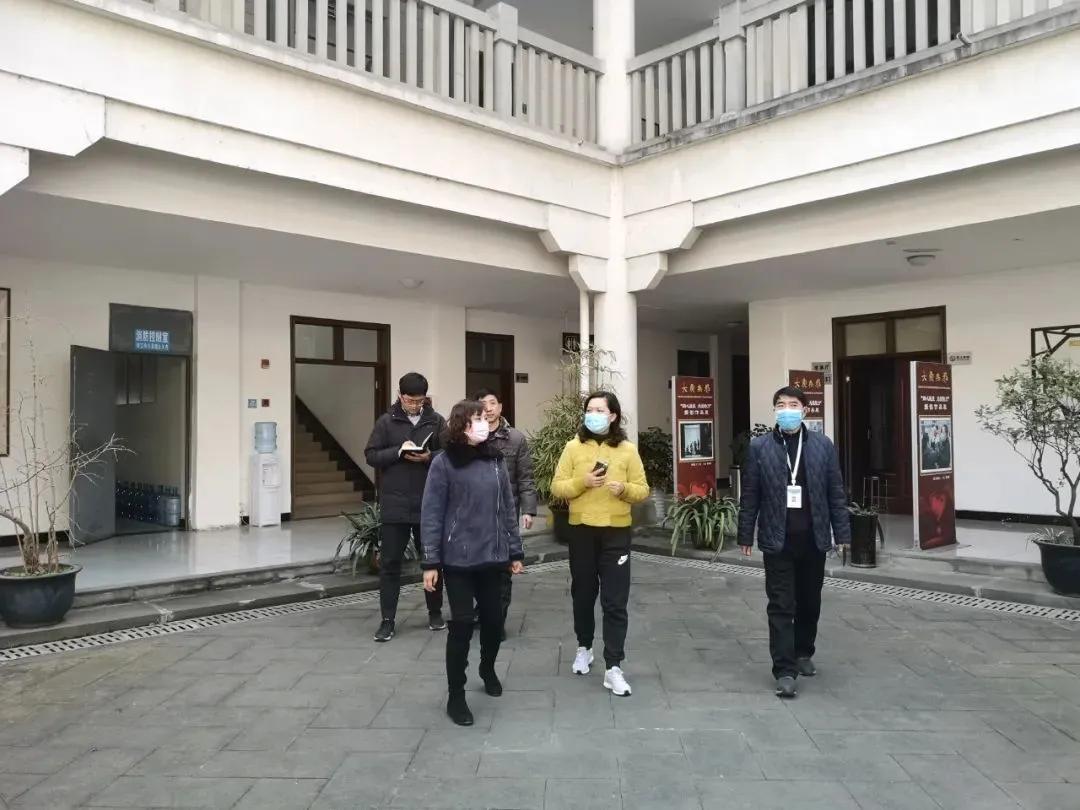 德阳市文旅局局长肖静到市文化馆检查疫情防控及场馆开放工作