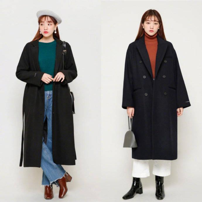 18套秋冬日常穿搭示范,照着穿秒变时髦气质小姐姐,值得收藏