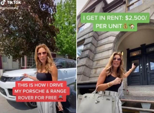 加拿大女子炫富惹众怒:两辆豪车都是零元购 每月躺着就有4.8万元到账
