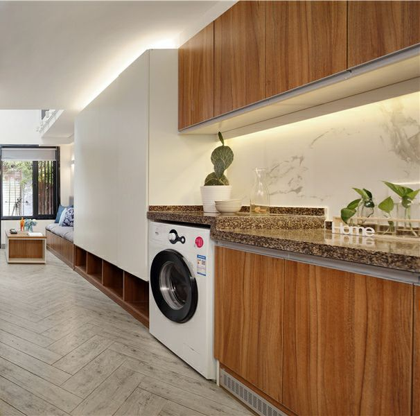 她花6个月,将30㎡老宅改造成3室3厅,完工后,堪比园林别墅
