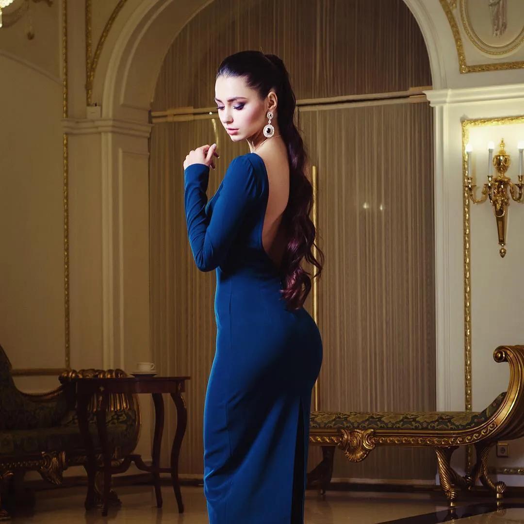 俄罗斯Helga Lovekaty 性感超模,身材完美曲线动人