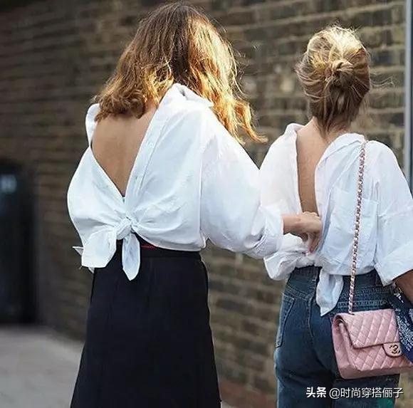 炎热的夏天,想让时尚度加分?那就给衣服打个结