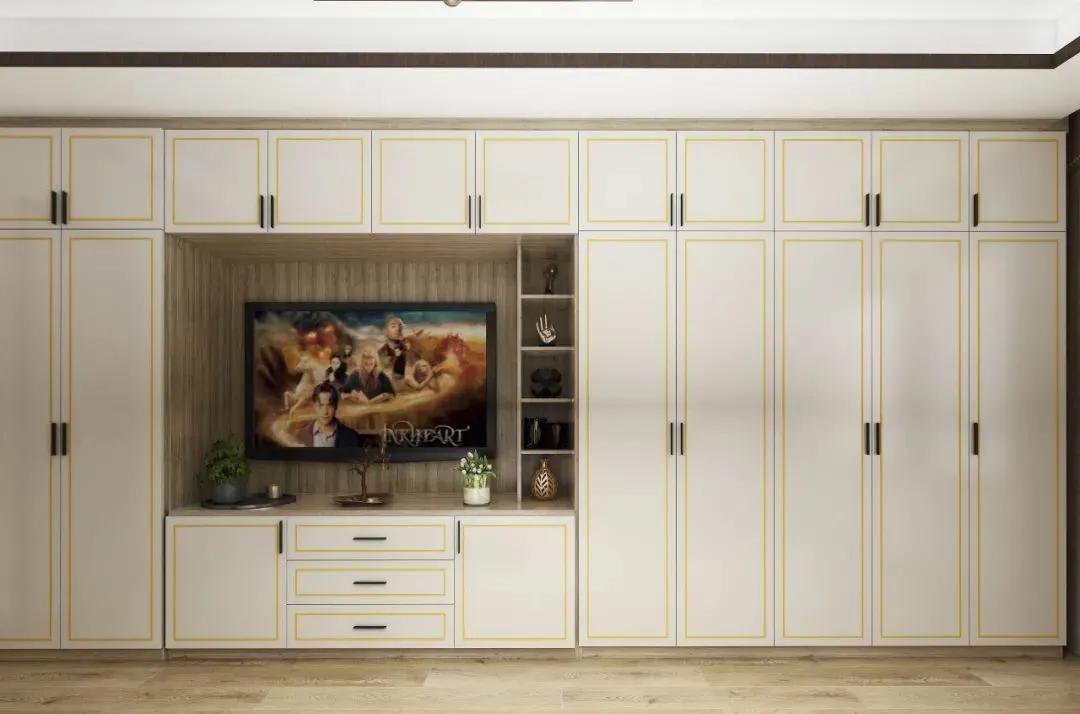 电视柜专辑丨现代轻奢,最新设计案例