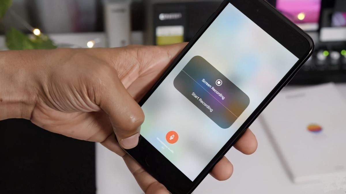 苹果怎么录屏有声音(iphone录屏怎么录内置声音)