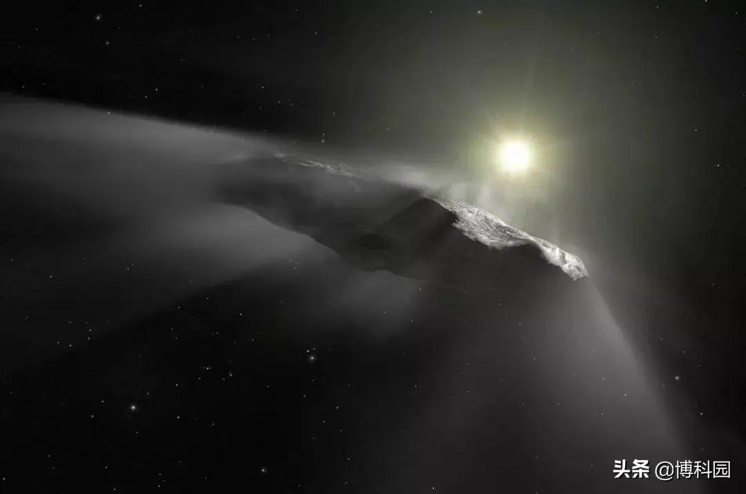 十之八九确定了,它不是外星人的飞船,而是一座长长的氢冰山