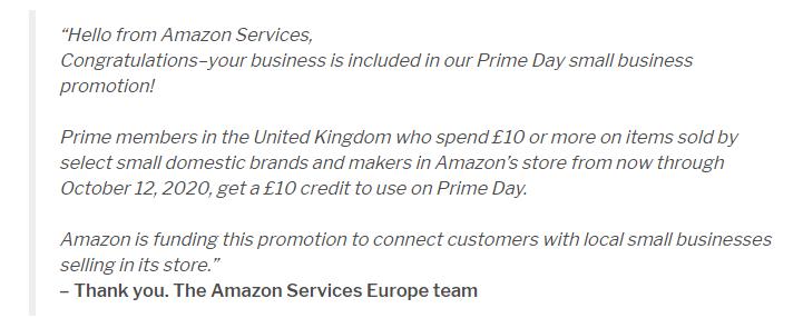 7500万扶持,亚马逊推出小企业促销计划!订单在向你招手