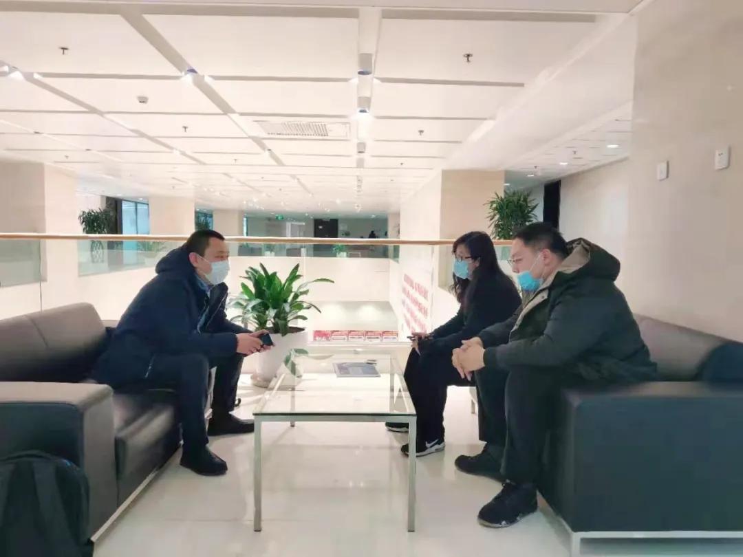市大数据协会秘书处赴天津滨海中关村科技园管委会拜访交流