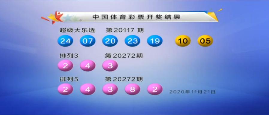 大乐透第20117期开奖快讯:前区2组连码+后区05 10