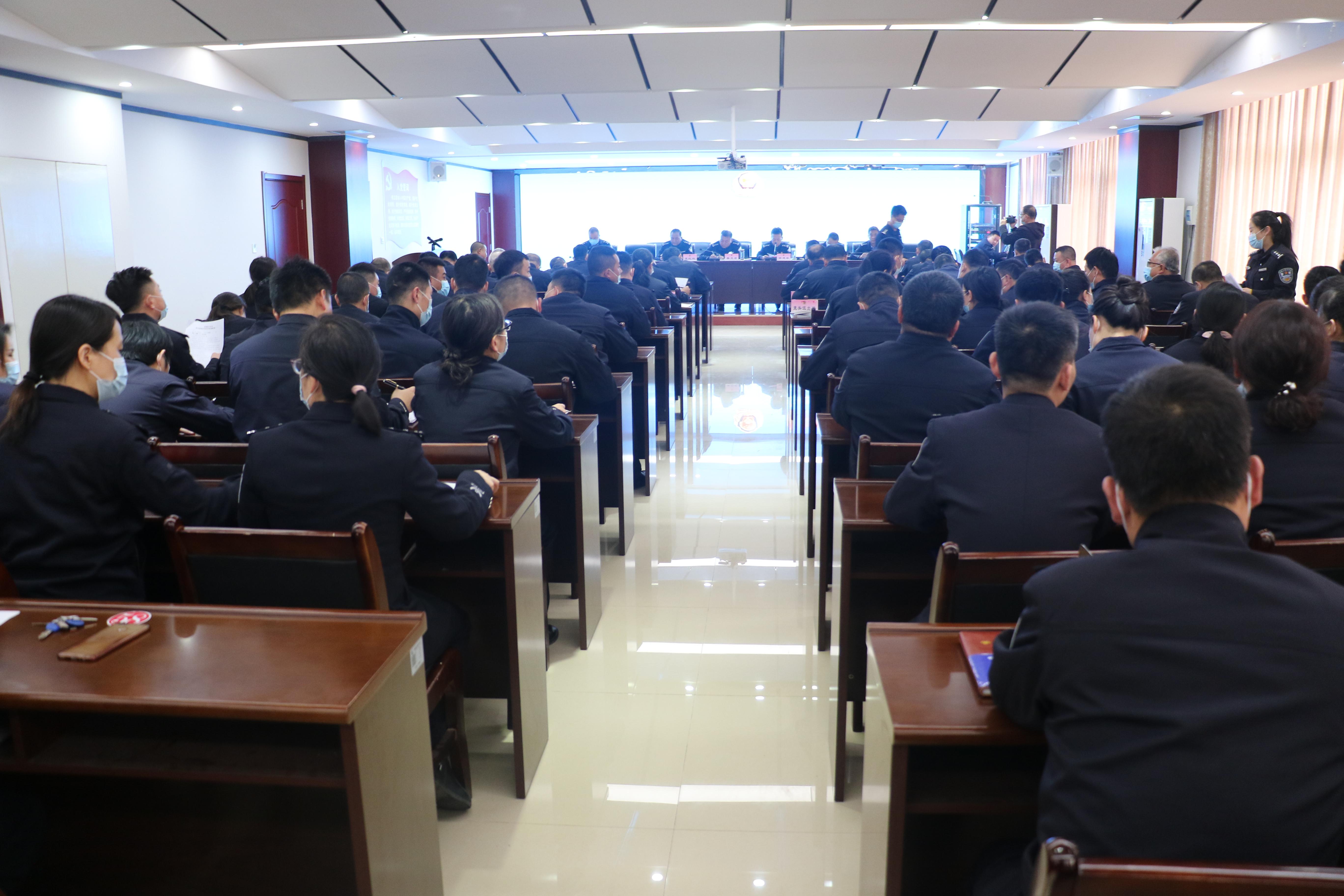 【教育整顿】澄城县公安局召开队伍教育整顿推进会