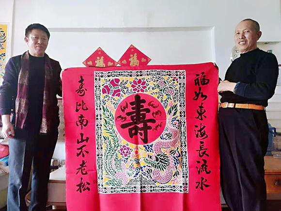 张明建巨幅作品《中国梦》庆建党100周年