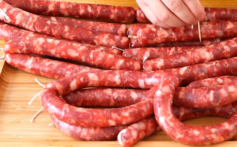 自製廣式風味臘腸:詳細配方比例,香味醇厚無添加,比買的還香