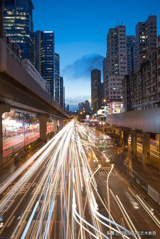 """3分钟学会城市风光摄影,拍出""""车水马龙""""的效果,方法很简单"""