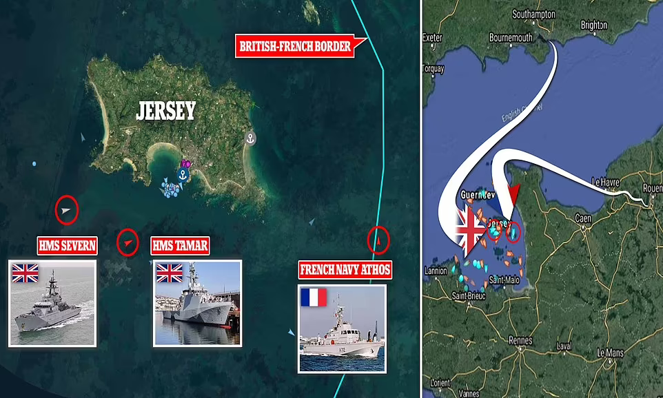 """英法历史性撕X!法国百船""""围剿""""英国海岛,英方怒派军舰要开战"""