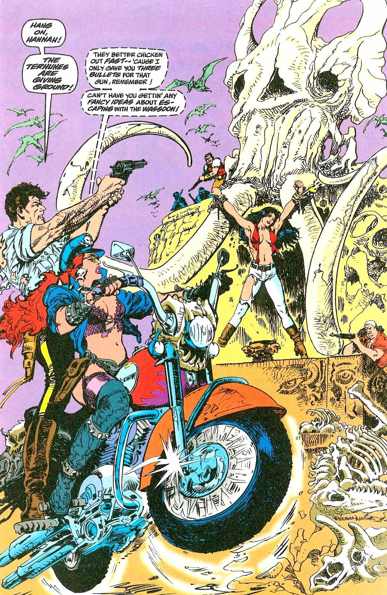 街机游戏《恐龙快打》的剧情,远远比我们想象的更加离奇
