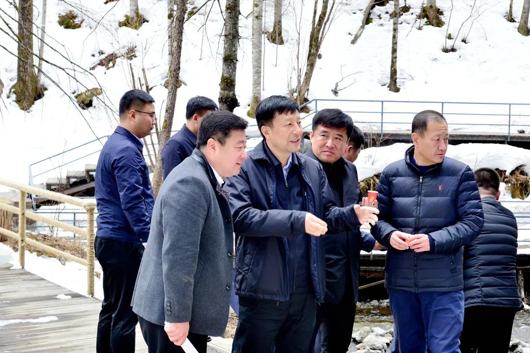 王连弟到白河林业局开展森林防火 安全生产 项目建设专题调研