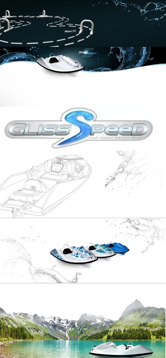 和朋友来一场比赛吧,法国电动水上卡丁车:格宁斯速度Gliss Speed