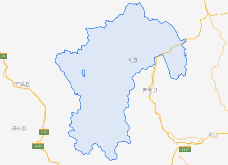 甘肃省一个县,人口超50万,秦国曾在此地定都!