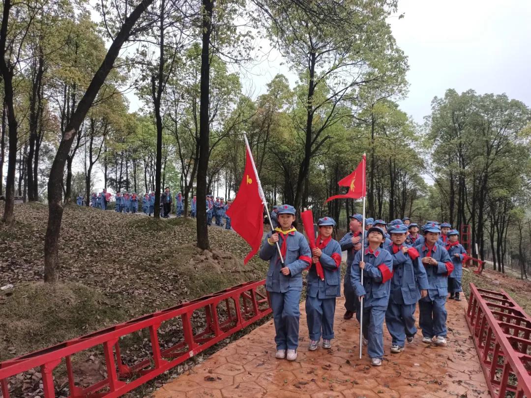 红色彭山 | 我爱祖国,我要做一次小红军