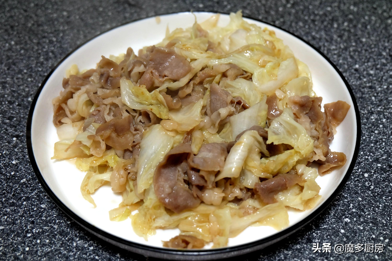 七道家常小炒菜,简单快手营养好,五分钟一道菜,比点外卖还方便 美食做法 第7张