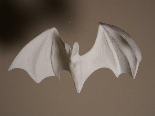 Ghost Bat蝙蝠模型3D打印图纸 STL格式