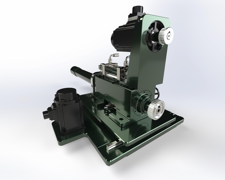 CNC Pipe Bending数控弯管机3D数模图纸 Solidworks设计