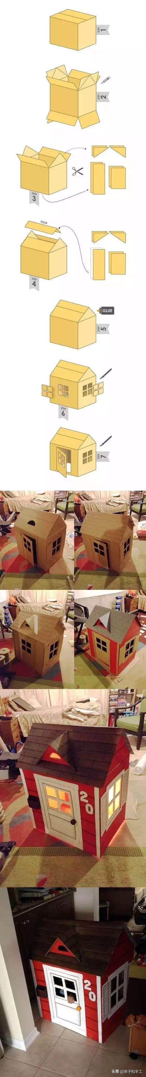 纸箱制作大全,脑洞太大了