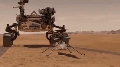 """NASA""""机智""""号无人机发回登陆火星后首份状态报告"""