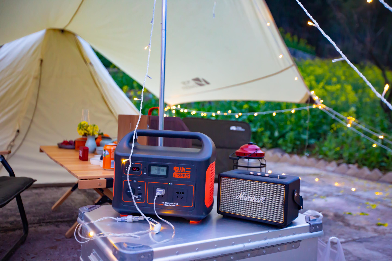 电小二户外电源成精致露营标配,亚洲户外展上凭实力圈粉