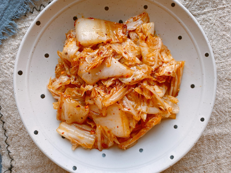 速成版腌白菜,低成本1小时就能上桌,酸辣爽口,比辣白菜还好吃